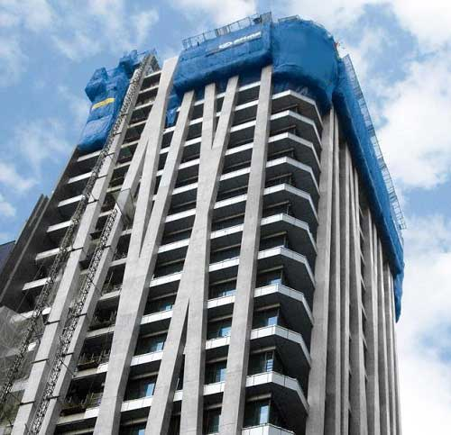 Silica Fume for Super High-rise Building