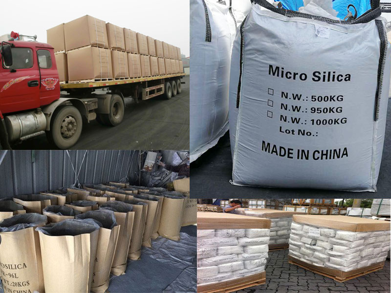 silica fume packing