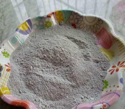 High purity microsilica