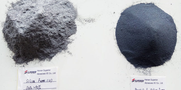 What does the utility of silica fume?