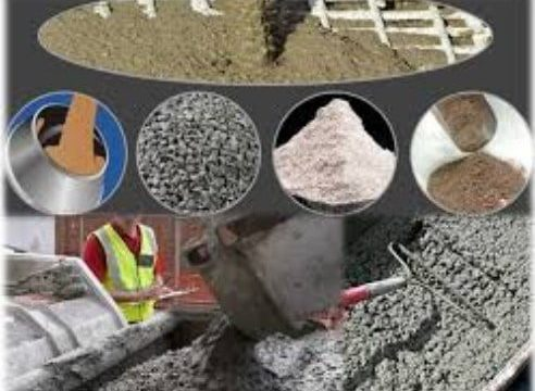 Components or Materials of Concrete